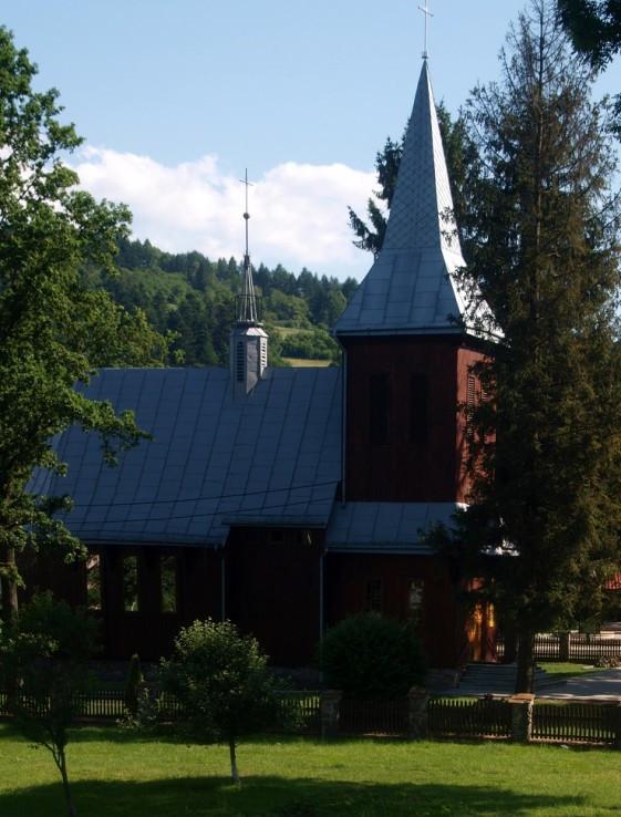 Katolícky drevený kostol sv. Jozefa v Komanczi