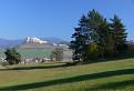 Spišské podhradie kde dominuje Spišský hrad