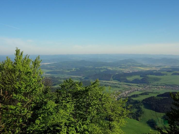 Výhled z Ostré Malenice