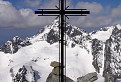 Krížový pohľad na Ľadový štít