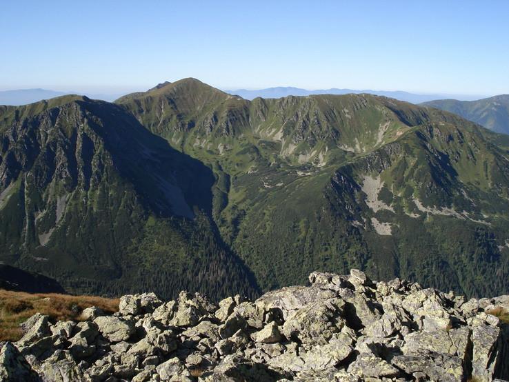 Veľká kopa z Ľaliového sedla