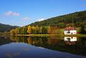 Jeseň na neslušskom rybníku