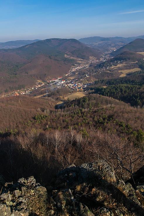 výhľad z Malej skaly