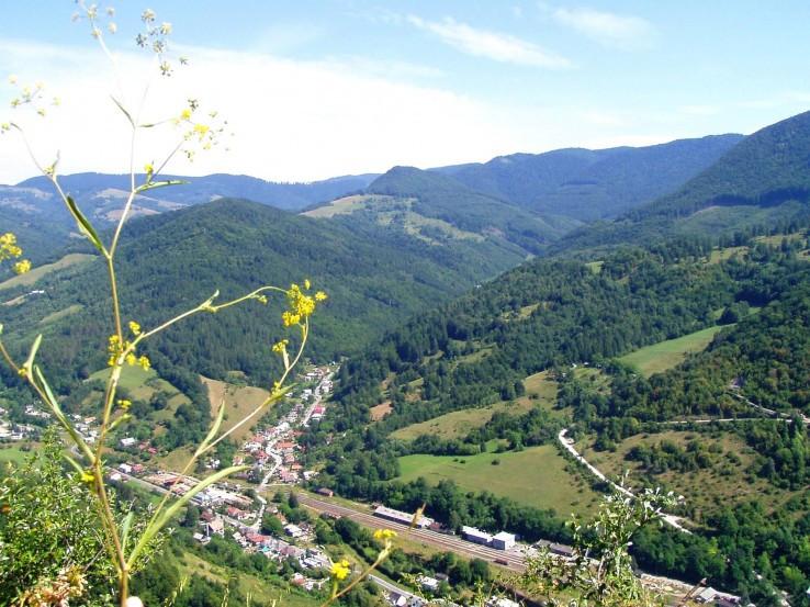 Výhľad z Hradovej