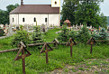 Cintorín a kostol v Uliči / 1.0476