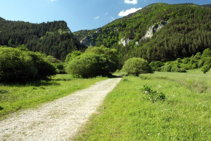 nástup do Prosieckej doliny