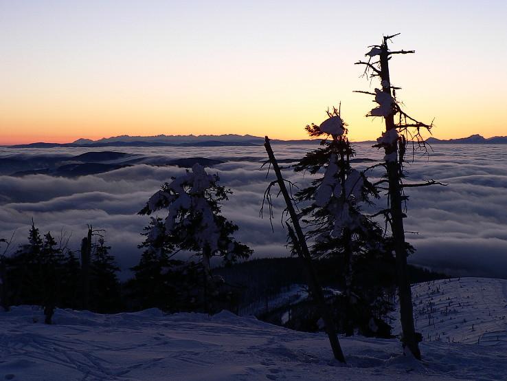 Tatry z Lysej hory