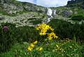 u Velického vodopádu