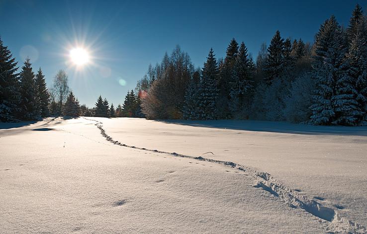 Zima v Krase