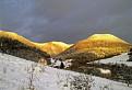 slnkom zaliate kopce