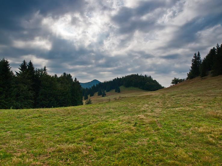 Pohlad na Hnilickú Kyčeru spred Žihlavníka