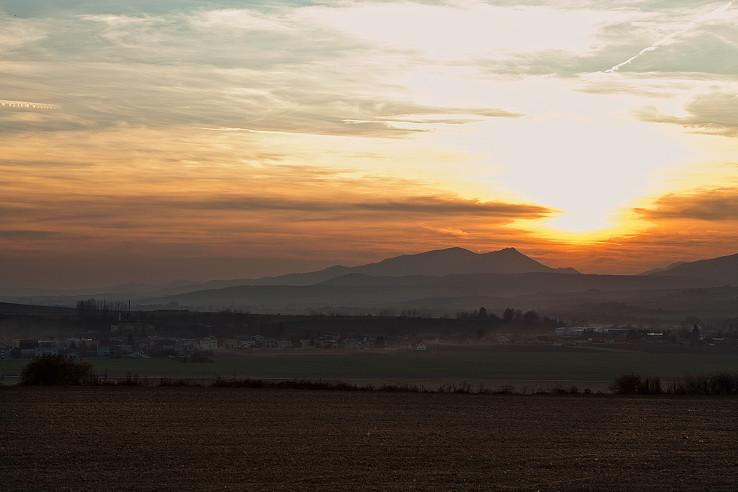 Zapad slnka nad Turcom