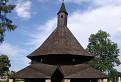 Gotický drevený kostolík v Tvrdošíne