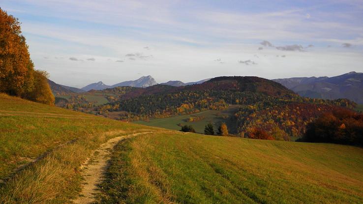 Jeseň na Kysuckej vrchovine