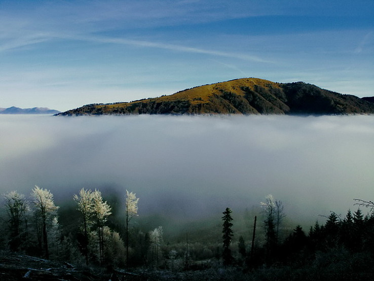 November v horách...