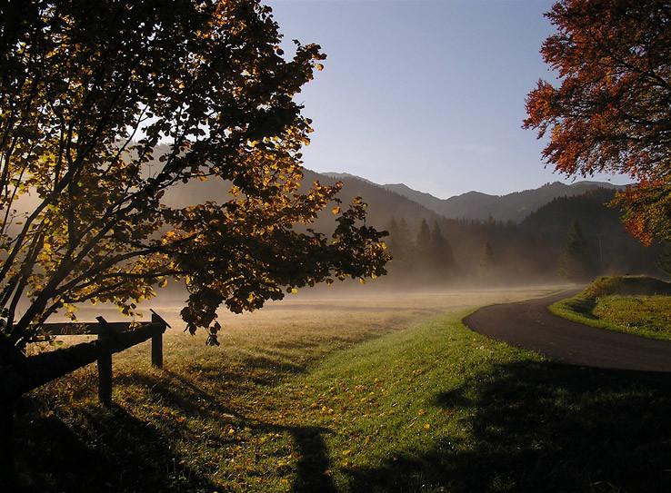 Slnko v Bobroveckej doline
