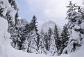 Októbrová zima vo Vysokých Tatrách