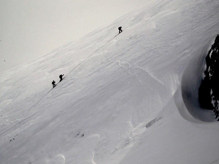 Skialpinisti idú do neba