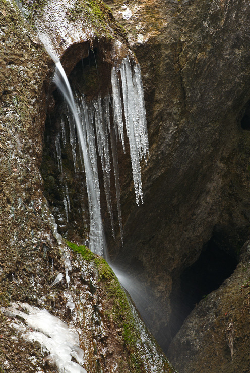 Hlbocký vodo(ľado)pád