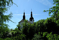 Veže kostola na Španej doline
