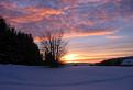 Zapad slnka na Donovaloch