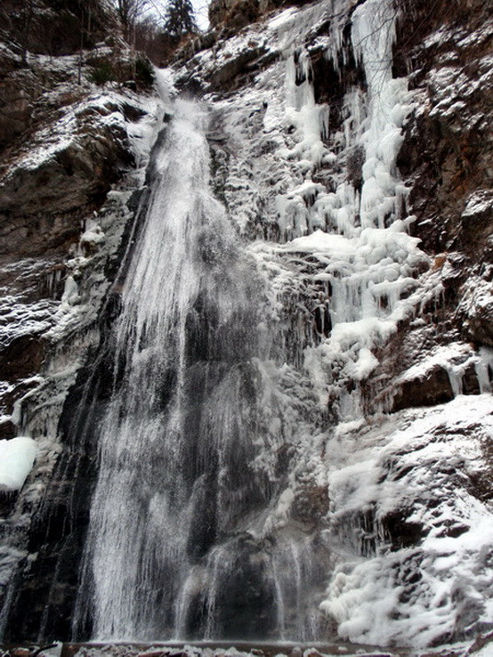 Šútovský vodopád na Štefana