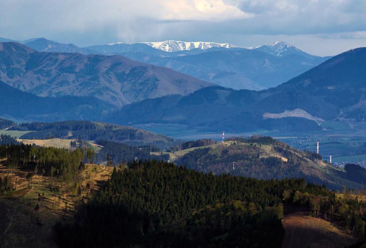 Veľká Fatra a Nízke Tatry