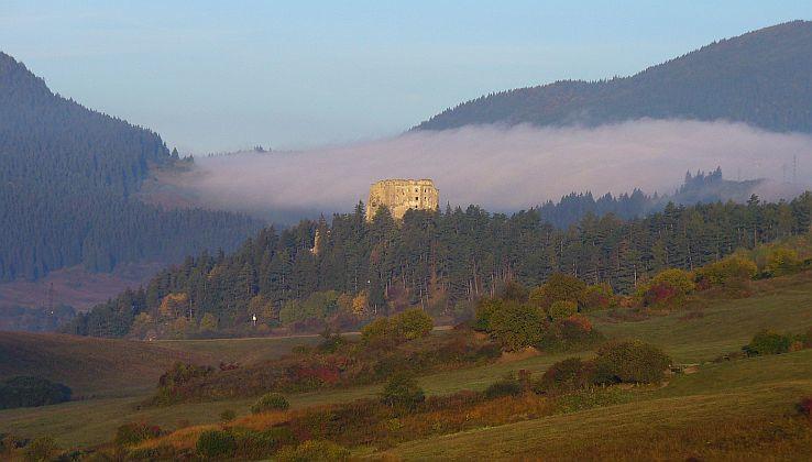 Zrúcaniny hradu Likavka