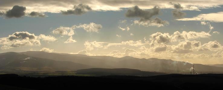 Horná Nitra v protisvetle