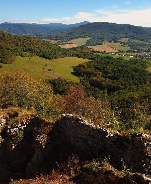 Jeseň pod hradom II.