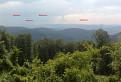 Výhľad z úbočia Beňovej skaly ponad Údolie