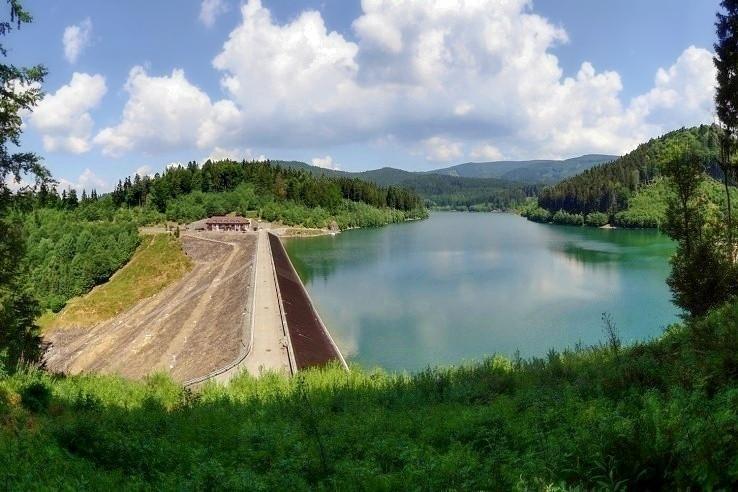 Vodná nádrž Turček - vyhliadka