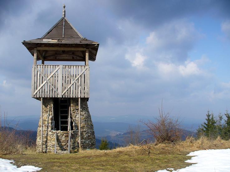 Rozhľadňa na Kamenitom (834 m)