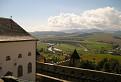 Pohľad z hradu Ľubovňa na rieku Poprad