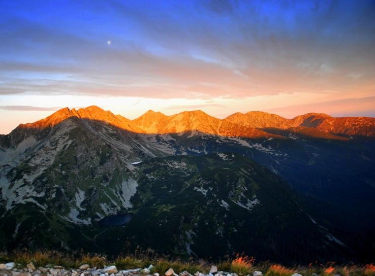 Ráno na horách...