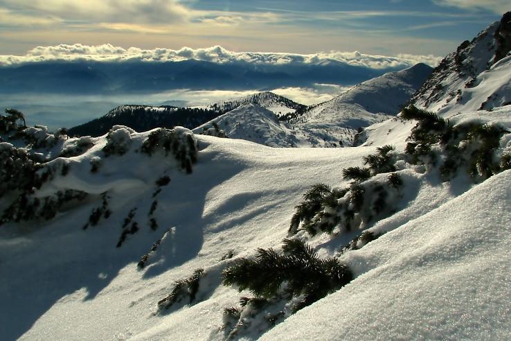 Oblačné Nízké Tatry