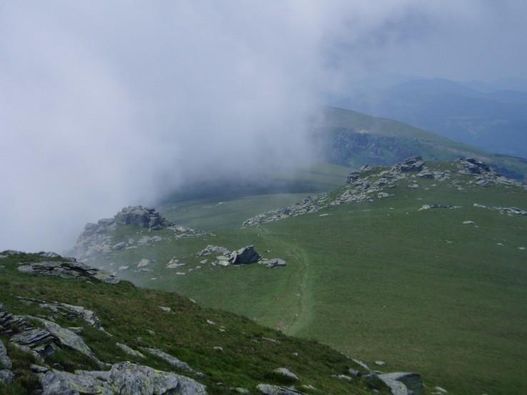 Na hrebeni v okolí Strednej hole