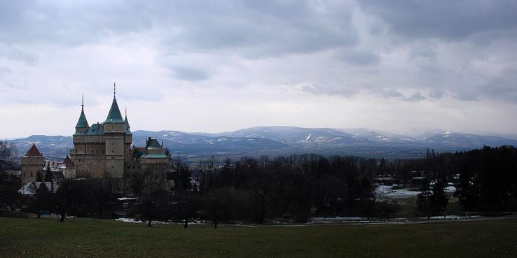 Veľkonočný Vtáčnik pod snehom