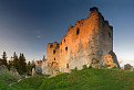 Podvečer na Lietavskom hrade