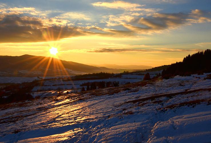 Keď sa slnko skloní na Horehroní..