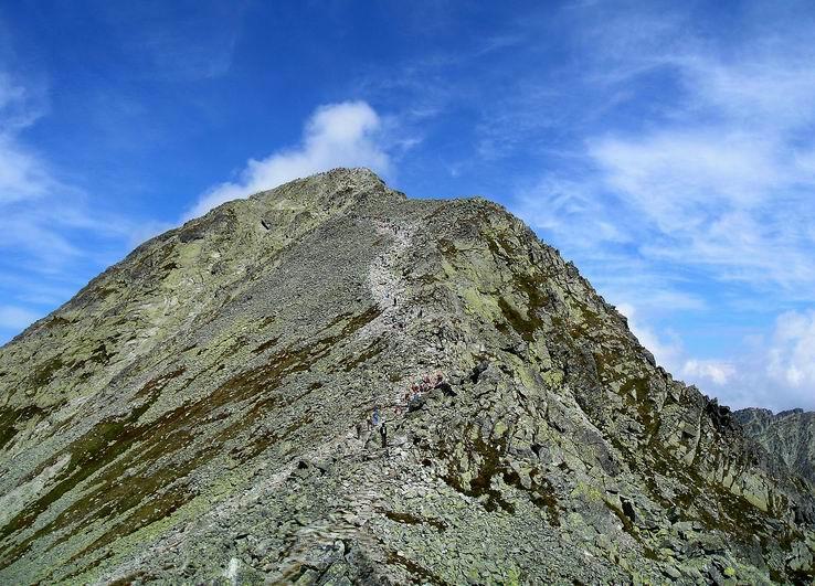 Chodníkom na vrchol