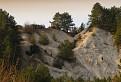 cestou z hradu Tematín