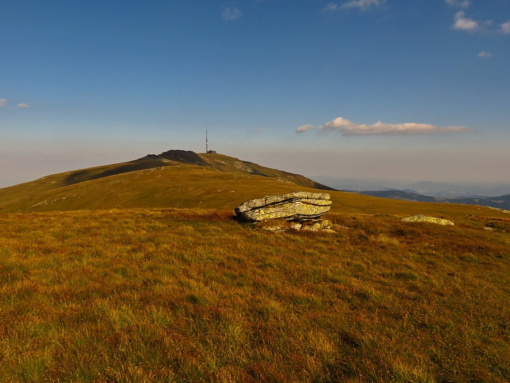 Kráľova hoľa (1 948 m) od Strednej hole