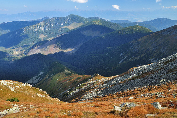 pohľad z vrchu Konské