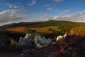 podvečer na Ladickej skale