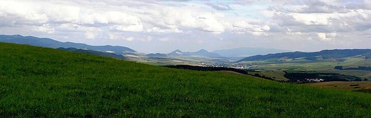 Výhľady z kraja Hornej Torysy