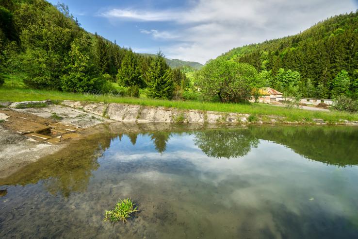 Bývalé kúpalisko na Jergaloch