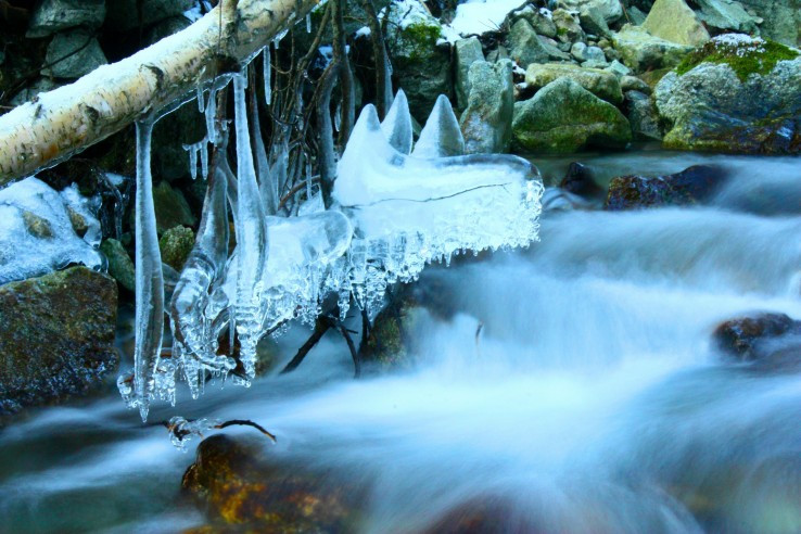 ľadový luster