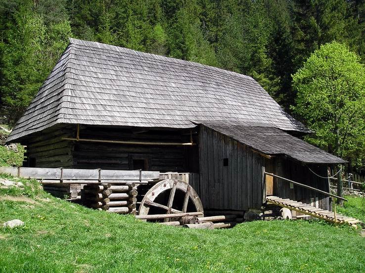 Horný mlyn v Oblazoch