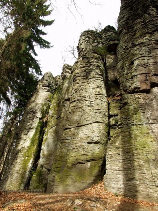 Kaľamárka - horné skaly